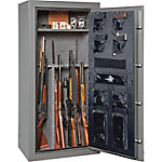 Winchester 24 Long Gun Capacity Safe, Granite, Electronic Lock, 45 Minute Fire rating at 1,400 deg.