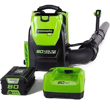 GreenWorks BPB80L2510 80V Backpack Blower
