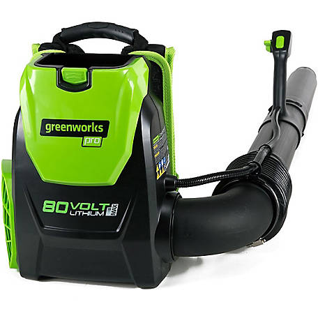 GreenWorks BPB80L00 PRO 80V Backpack Blower