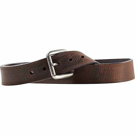 Ariat Men's Work Trip Stitch Belt, Brown A10004630