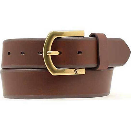HD Xtreme Men's Brown Beveled Work Belt