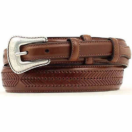 Nocona Men's Top Hand Brown Ranger Belt