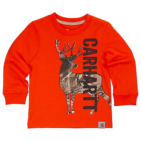 Carhartt Boys' Toddler Deer Camo Tee