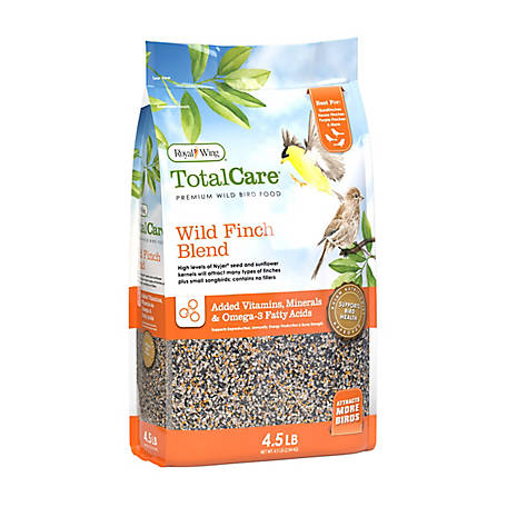 Royal Wing Total Care Total Care Wild Finch, 4.5 lb.