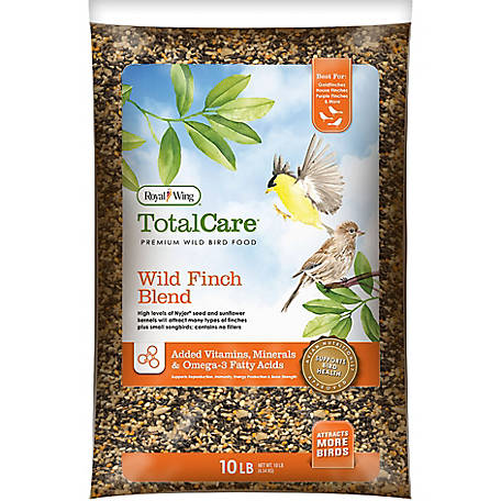Royal Wing Total Care Wild Finch Blend, 10 lb.
