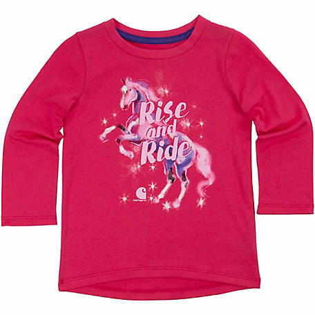 Carhartt Girls' Rise and Ride Tee