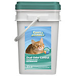 Paws & Claws Dual Odor Control Scoopable Cat Litter, 35 lb. Pail