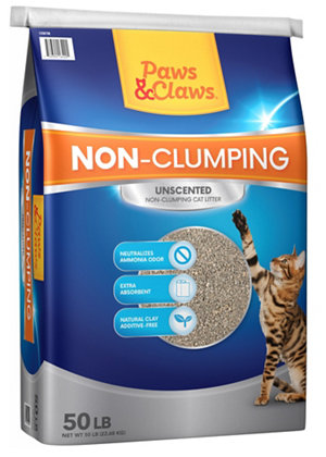 Paws And Claws Non Clumping Cat Litter