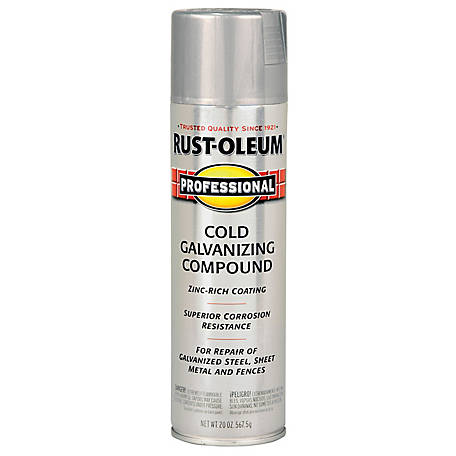 Rust-Oleum Professional Cold Galvanizing Compound 20 oz  Spray at Tractor  Supply Co