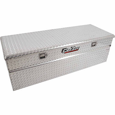 Dee Zee Black-Tread Aluminum 56 in. Utility Chest