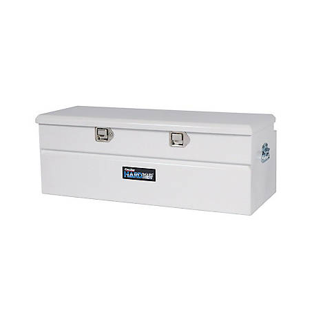 Dee Zee White Steel 56 in. Utility Chest