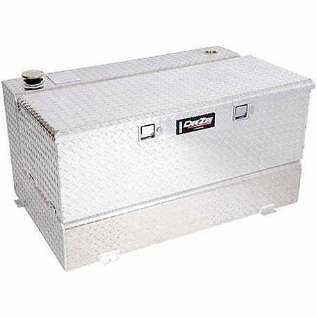 Dee Zee L-Shaped Transfer Tank with Chest Box, 92 gal.