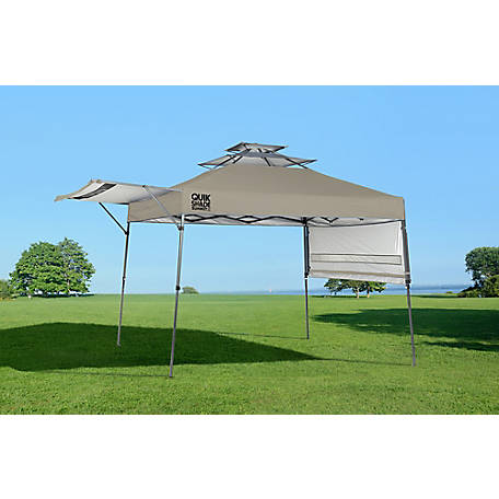 Quik Shade Summit SX170 10 x 17 ft. Straight Leg Canopy, Taupe