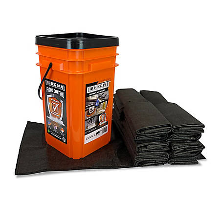 Quick Dam Grab & Go Flood Kit, 1 Bucket (20 Bags)