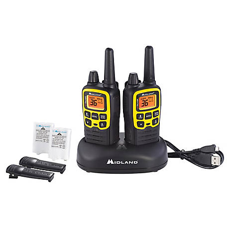Midland T61 Two-Way Radios, 36 channels, 32 Miles