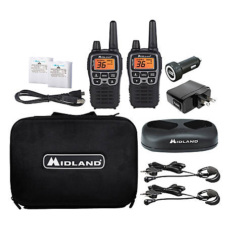 Midland T77 Extreme Dual Pack Two-Way Radios, 36 channels, 38 Miles