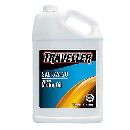 Traveller Conventional 5W-20 Motor Oil, 5 qt.