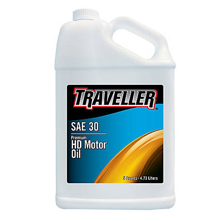 Traveller 30W Motor Oil, 5 qt.