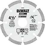 DeWALT 4-1/2 in. HP Segmented Diamond Blade