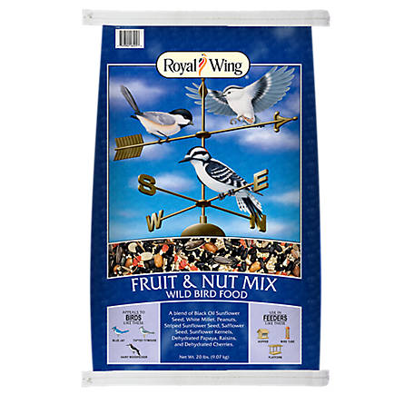 Royal Wing Fruit & Nut, 20 lb.