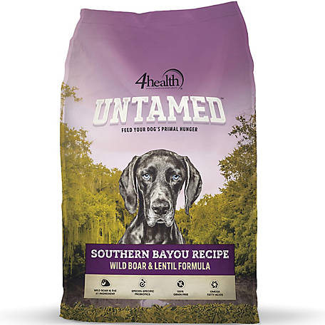 4health Untamed Southern Bayou Recipe Wild Boar & Lentil Formula Dog Food,  8 lb  Bag at Tractor Supply Co