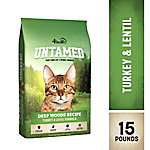 4health Untamed Deep Woods Recipe Turkey & Lentil Formula Cat Food, 15 lb. Bag
