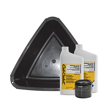 Cub Cadet Oil Change Kit, 490-950-C042