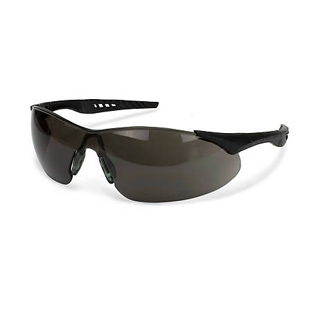 Case IH Safety Glasses, Smoke Gray Lenses