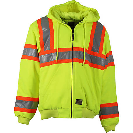 f988c86eaede CE Schmidt Men's Class 3 Hi-Visibility Insulated Hooded Active Jacket ...