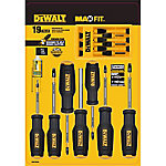 DeWALT 19-Piece MaxFit Screwdriver Set