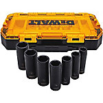 DeWALT 7-Piece 1/2 in. dr. Deep Impact Socket Set