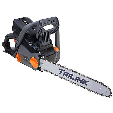 Redback 120v cordless li ion 18 in chain saw kit at tractor supply co greentooth Choice Image