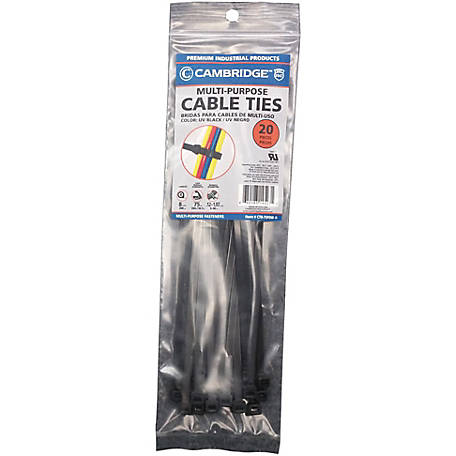 Cambridge Cable Tie, 8 in., UVB