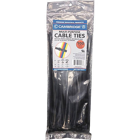 Cambridge Cable Tie, 8 in. and 11 in.