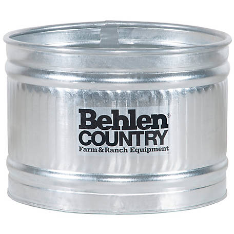 Behlen Country 3 ft. Galvanized Round Tank, 50130118