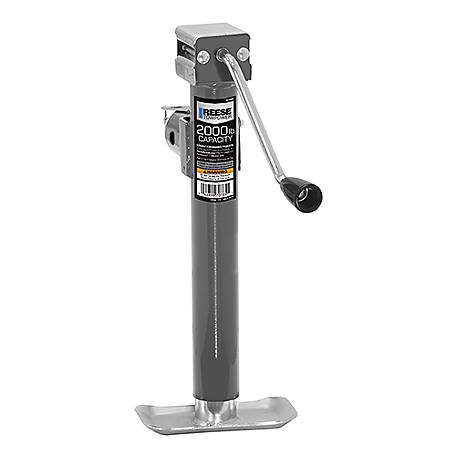 Reese Towpower Weld-On Jack, 2,000 lb., 7078500