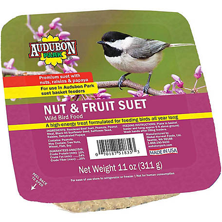 Audubon Park Nut & Fruit Suet