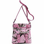 Realtree Mila Crossbody Real Tree Pink with Pink Trim