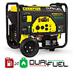 Champion Power Equipment 3800-Watt Dual Fuel RV Ready Portable Generator with Electric Start