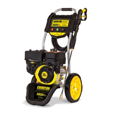 Champion Power Equipment 2600-PSI 2.2-GPM Dolly-Style Gas Pressure Washer