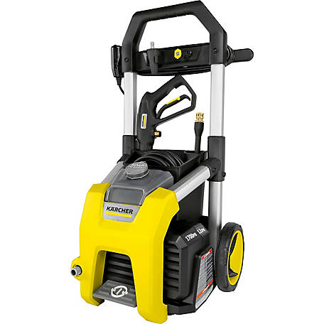 Karcher K1700 1700 PSI 1.2 GPM Electric Power Pressure Washer, 1.106-109.0