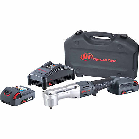 Ingersoll Rand W5330-K22 3/8 in. 20V Cordless Right Angle Impact Wrench 2 Battery Kit