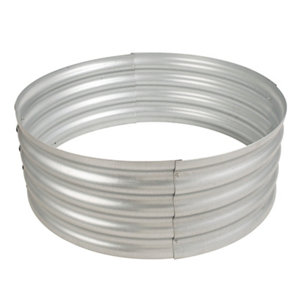 Pleasant Hearth Infinity Galvanized Fire Ring At Tractor