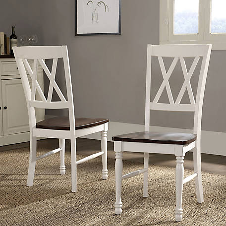 Crosley Shelby Dining Chair in White Finish, CF501018-WH