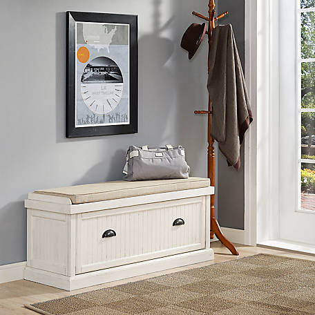 Crosley Seaside Entryway Bench, CF6011