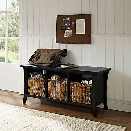 Crosley Wallis Entryway Storage Bench, CF6002