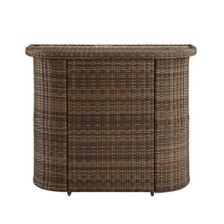 Crosley Bradenton Wicker Bar, CO7221-WB