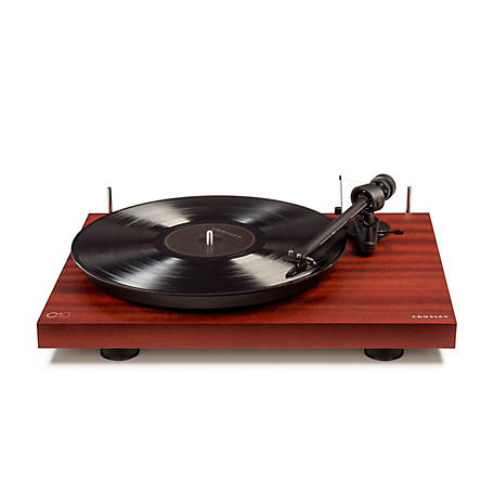 Crosley C10 Two-Speed Manual Turntable Deck, Mahogany Finish, C10A-MA