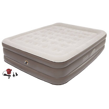 Coleman SupportRest Plus Pillow Top Double High Airbed, Queen