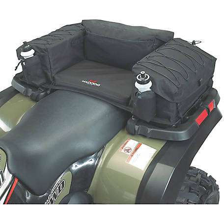 MadDog Gear ATV Rear Padded Bottom Bag, Black